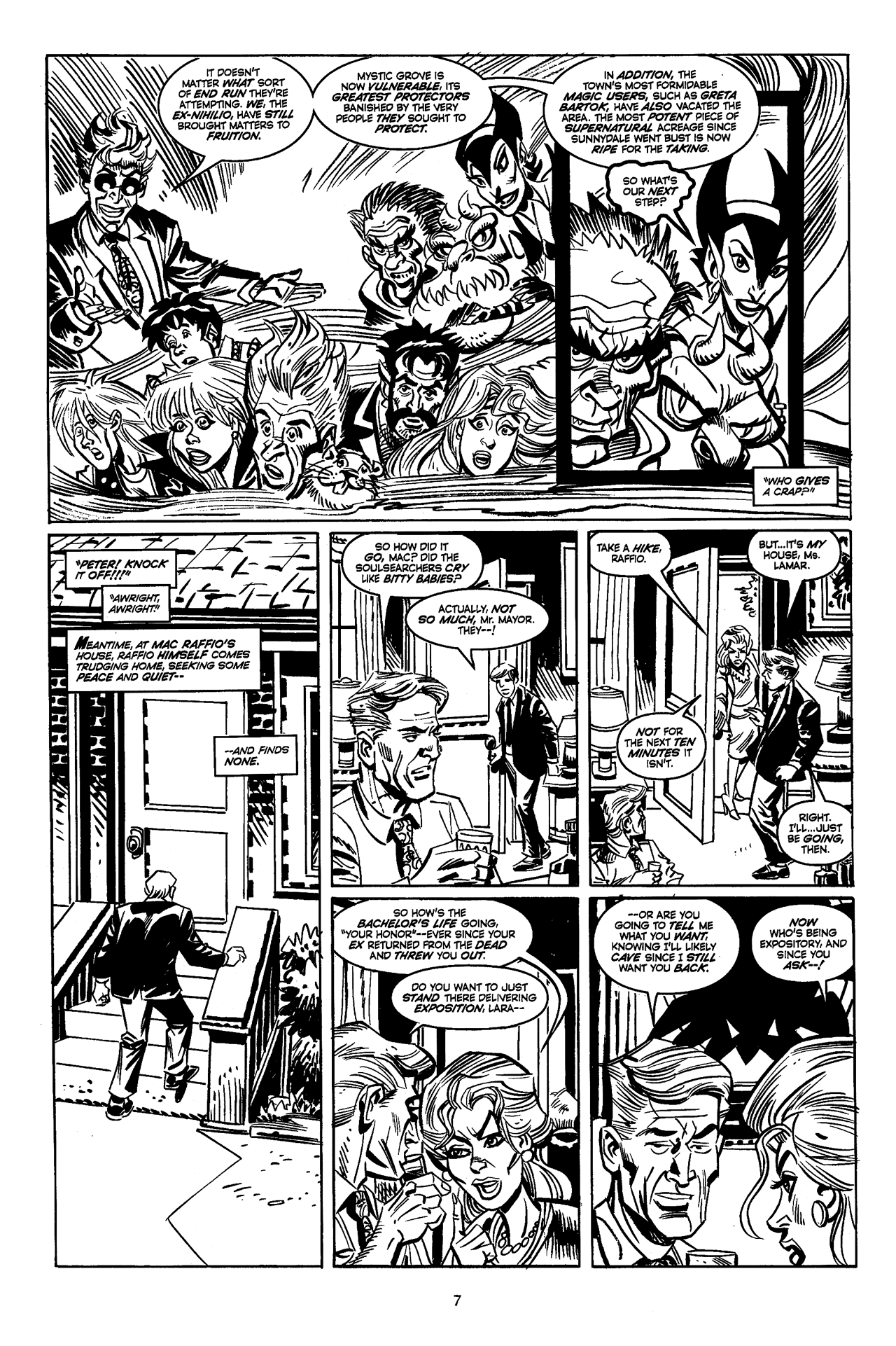 Soulsearchers and Company issue 82 - Page 9