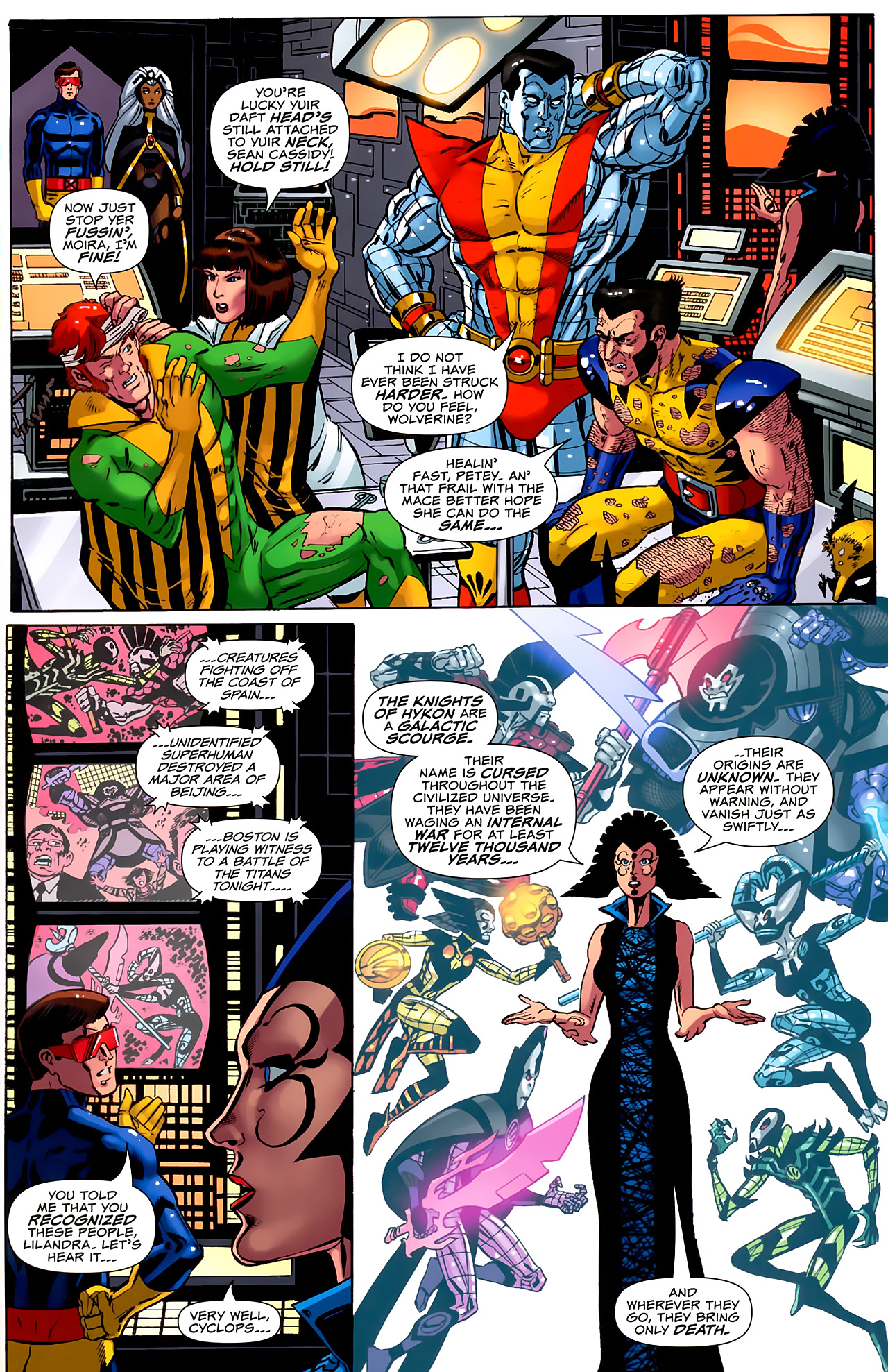 Read online Uncanny X-Men: First Class comic -  Issue #6 - 10
