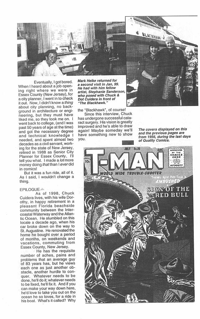 Read online Golden-Age Men of Mystery comic -  Issue #13 - 34