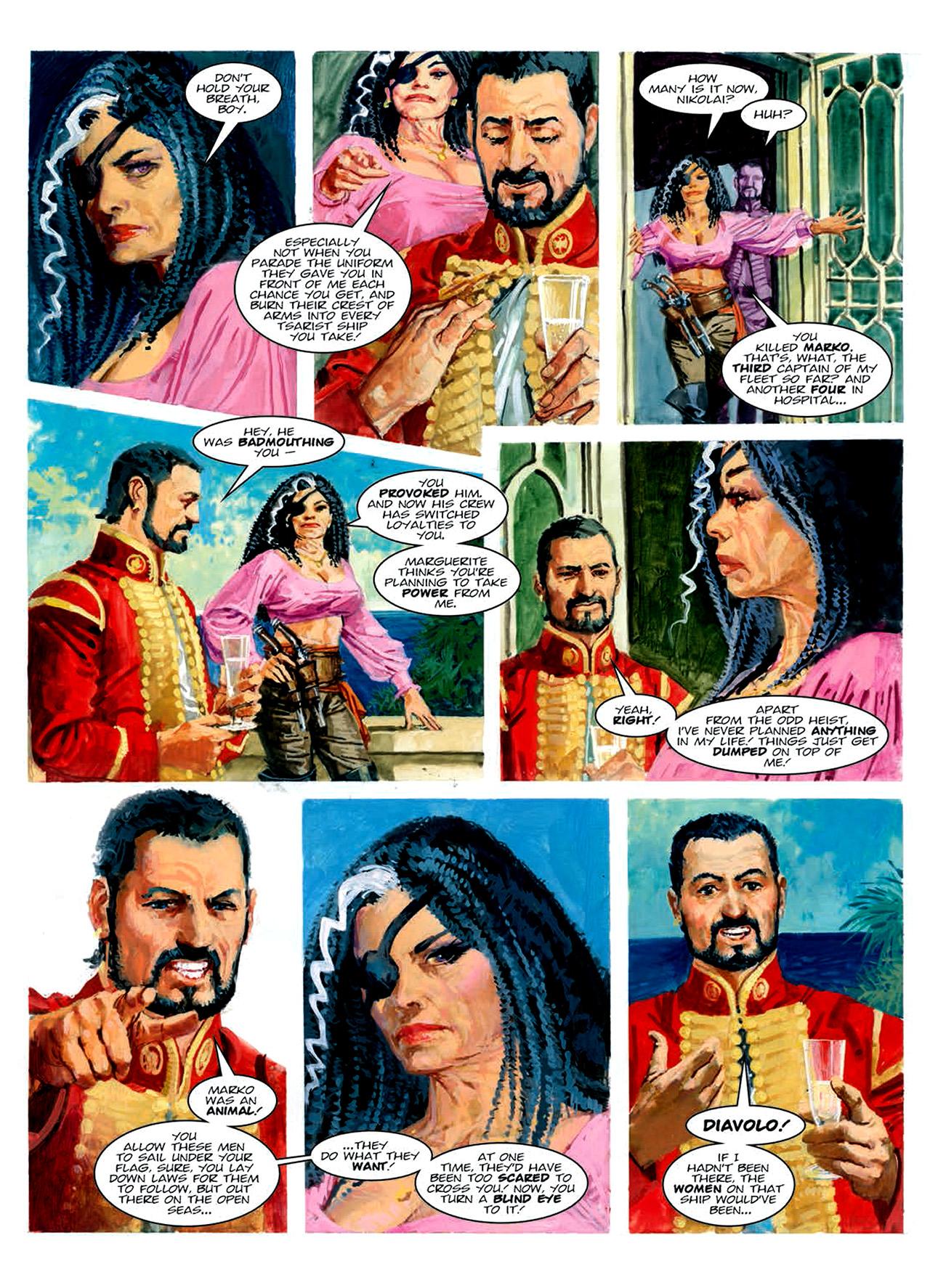 Read online Nikolai Dante comic -  Issue # TPB 6 - 154