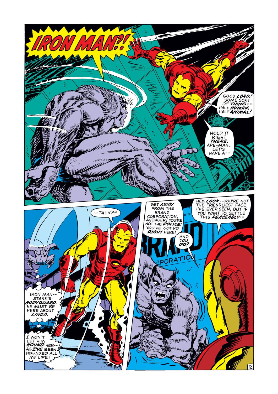 Read online Amazing Adventures (1970) comic -  Issue #12 - 13