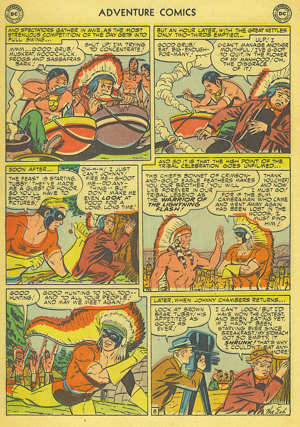 Read online Adventure Comics (1938) comic -  Issue #165 - 27