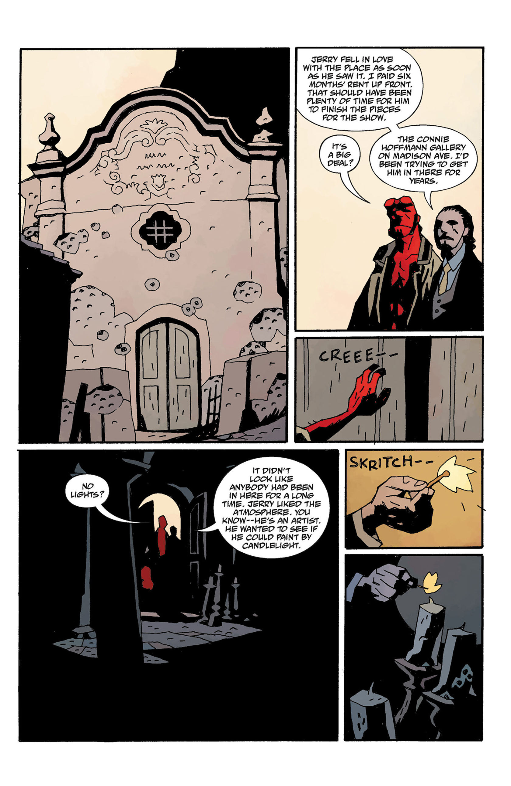Read online Hellboy: The Crooked Man and Others comic -  Issue # TPB - 111