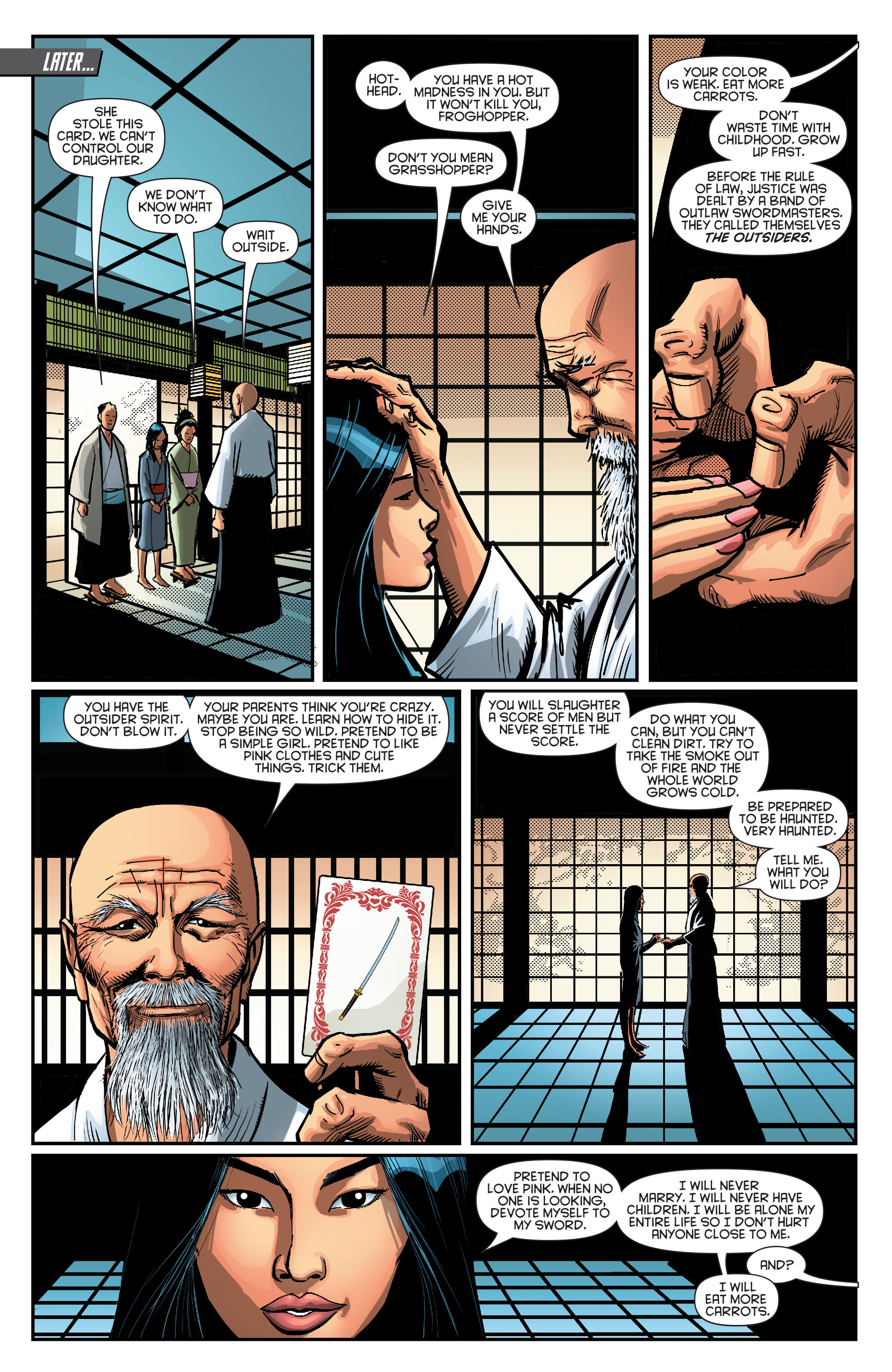 Read online Secret Origins (2014) comic -  Issue #8 - 29