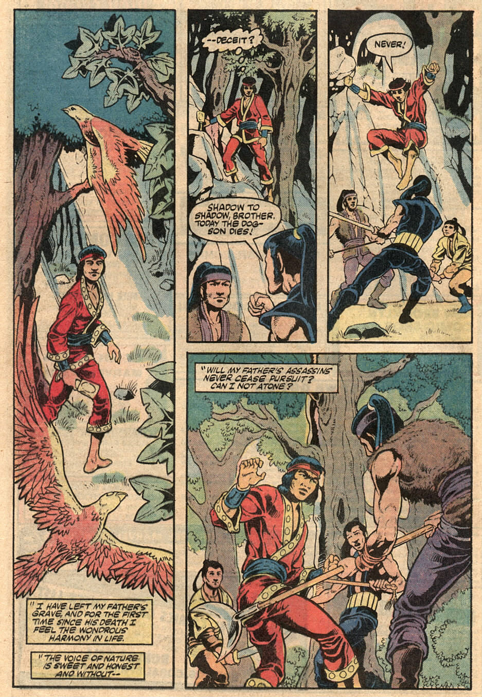 Read online Master of Kung Fu (1974) comic -  Issue #125 - 11