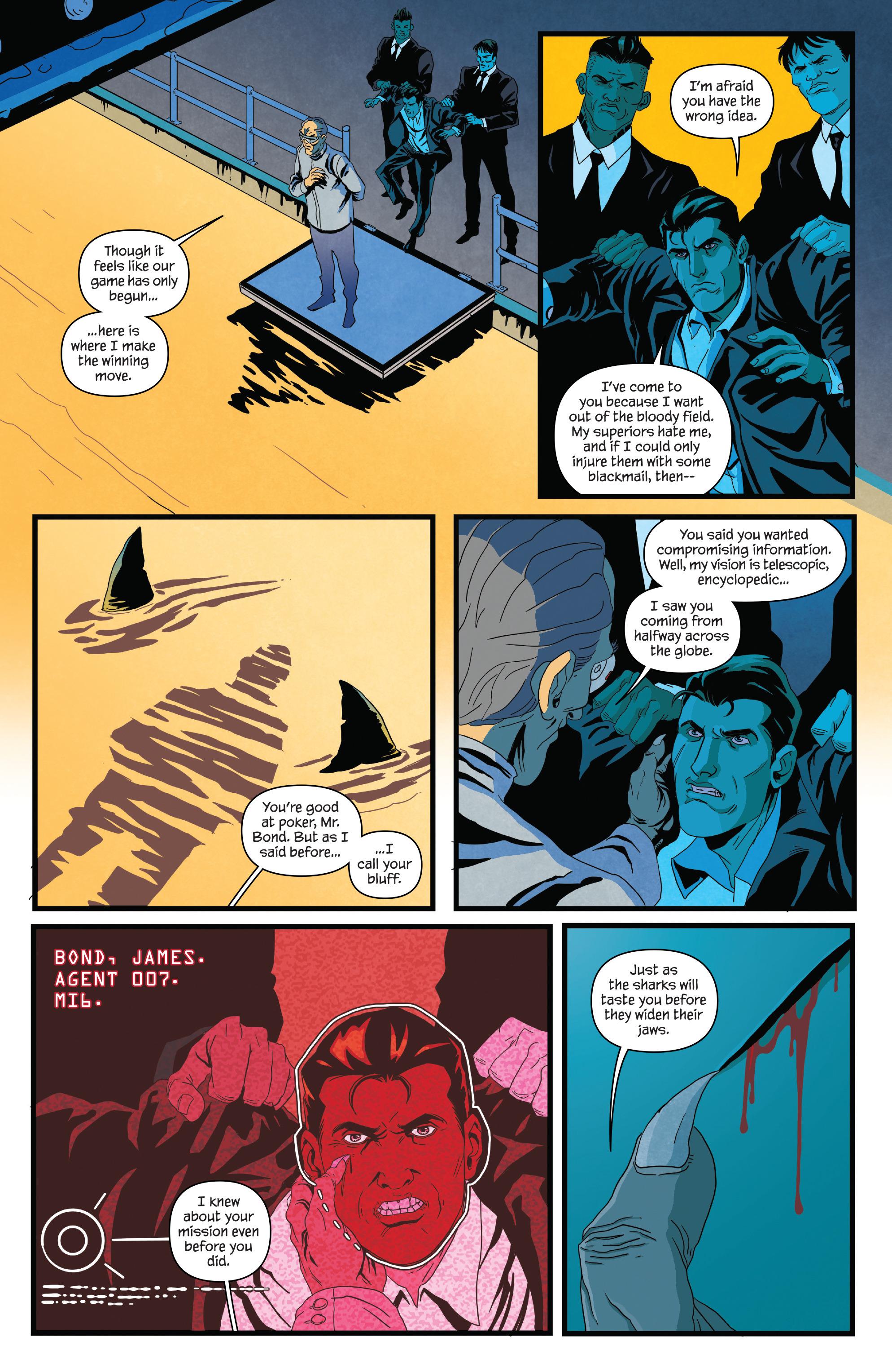 Read online James Bond (2017) comic -  Issue #2 - 15