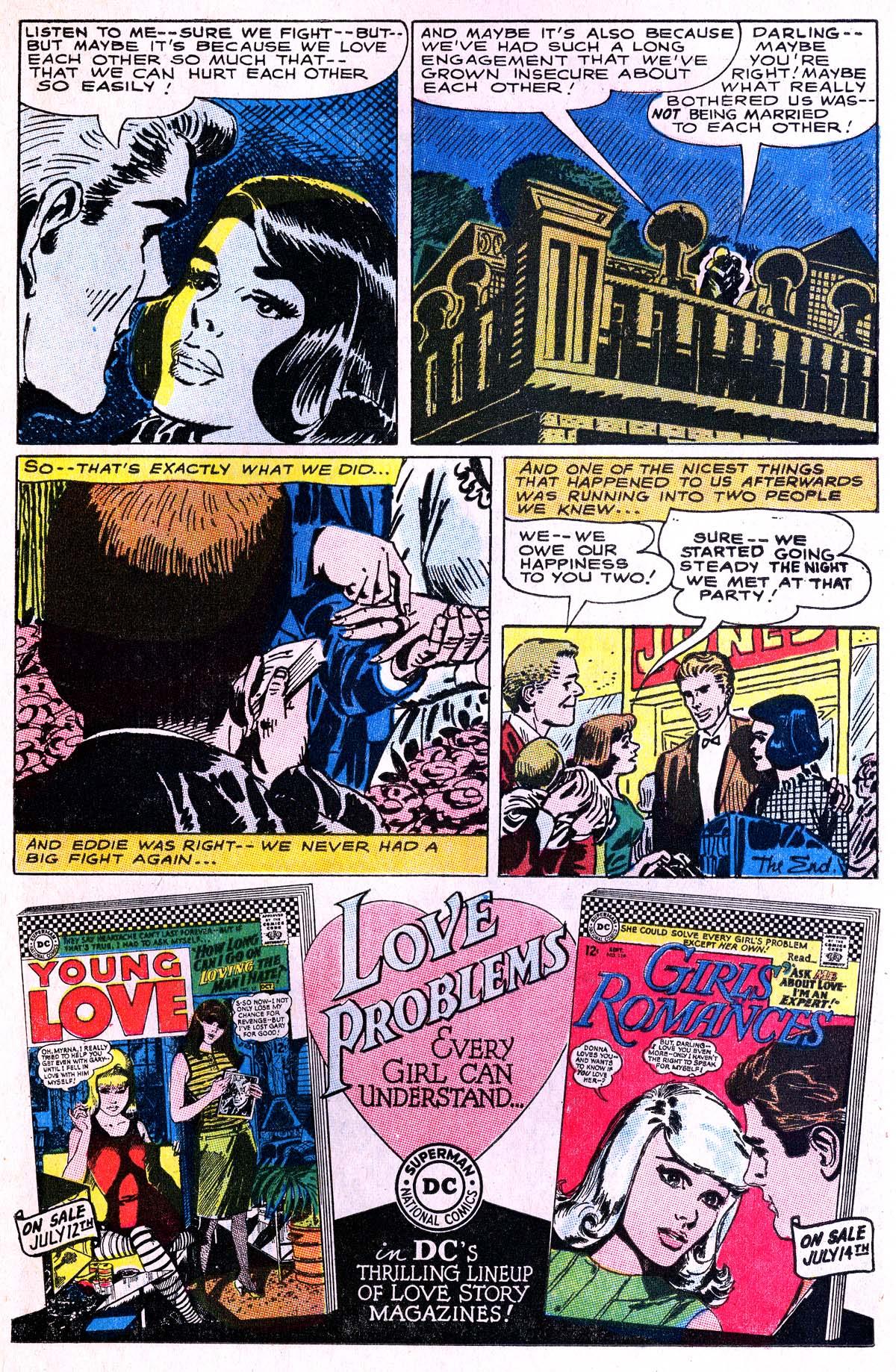 Read online Secret Hearts comic -  Issue #114 - 14