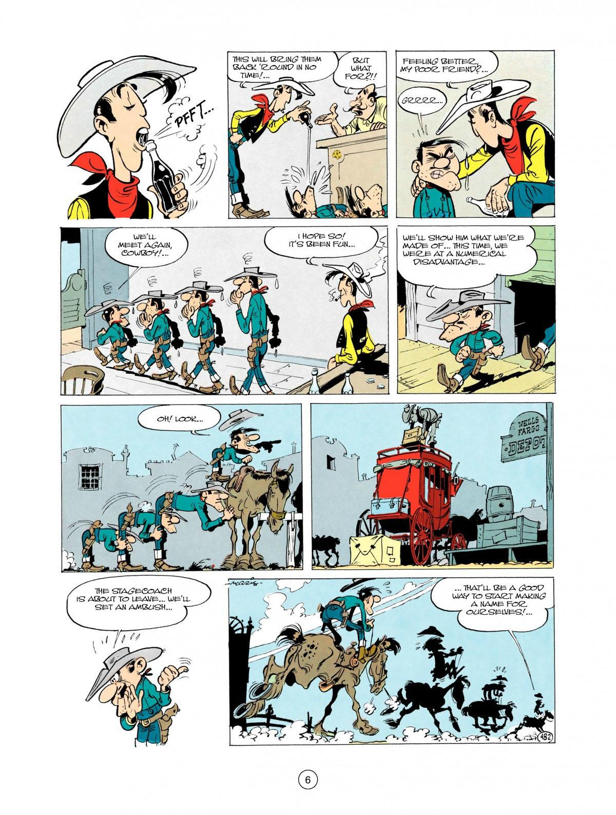 Read online A Lucky Luke Adventure comic -  Issue #28 - 7