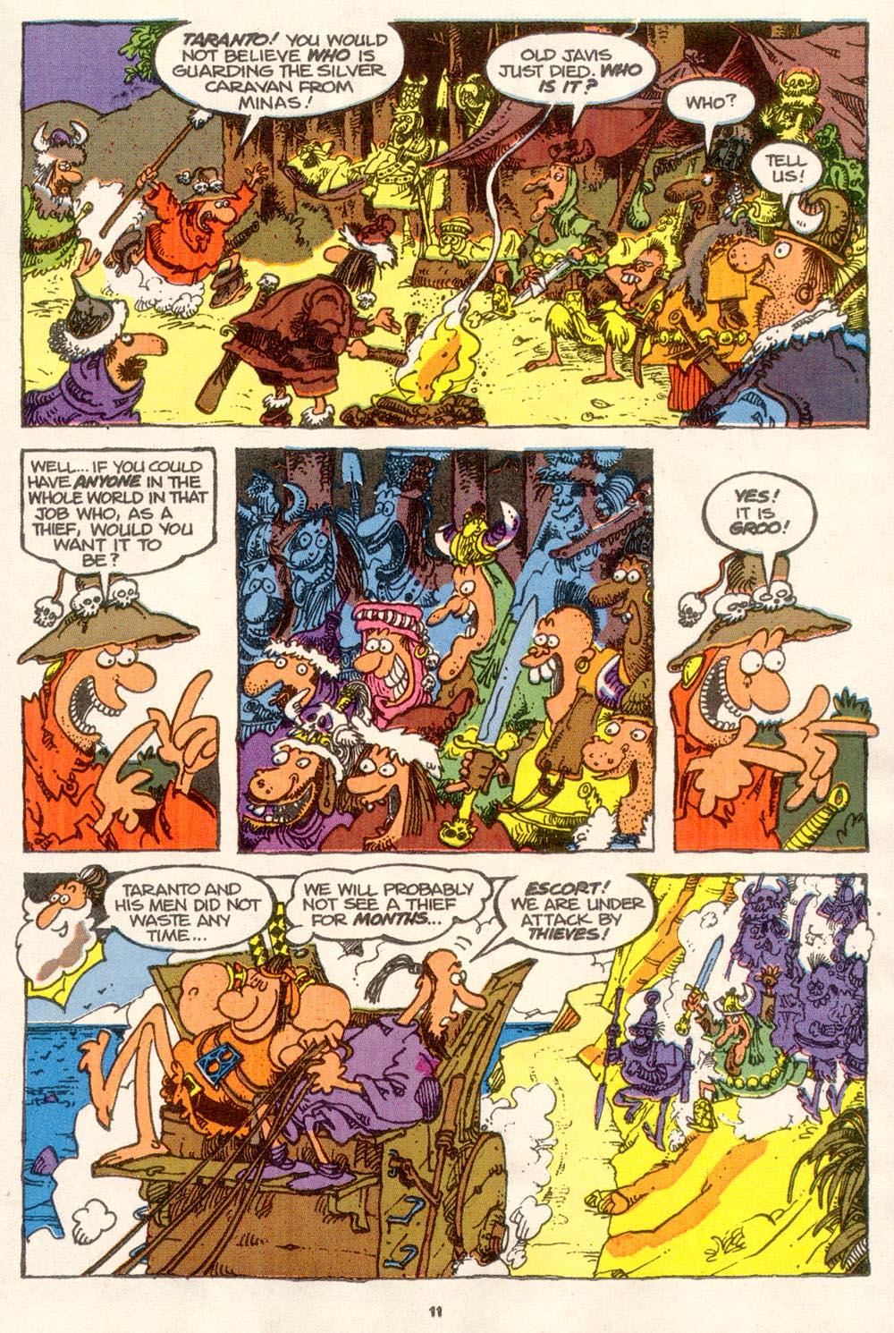 Read online Sergio Aragonés Groo the Wanderer comic -  Issue #76 - 8