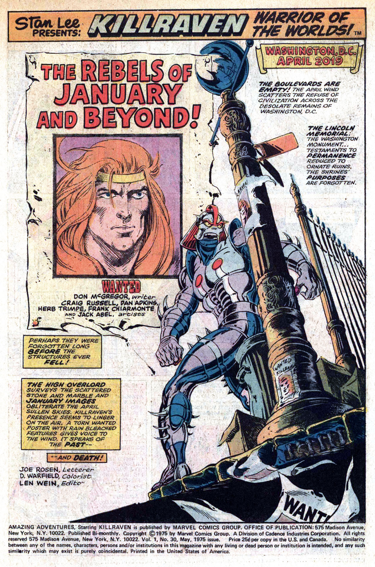 Read online Amazing Adventures (1970) comic -  Issue #30 - 3