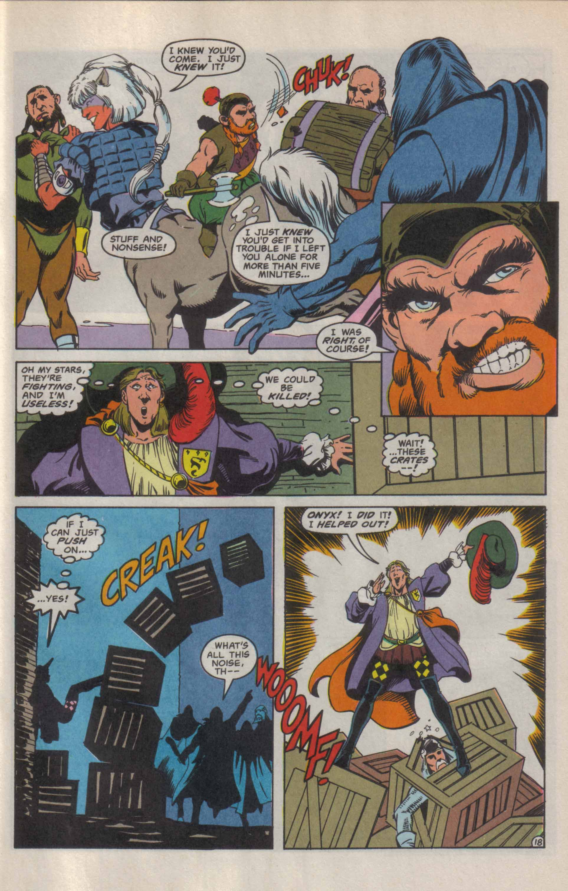 Read online Advanced Dungeons & Dragons comic -  Issue #9 - 19