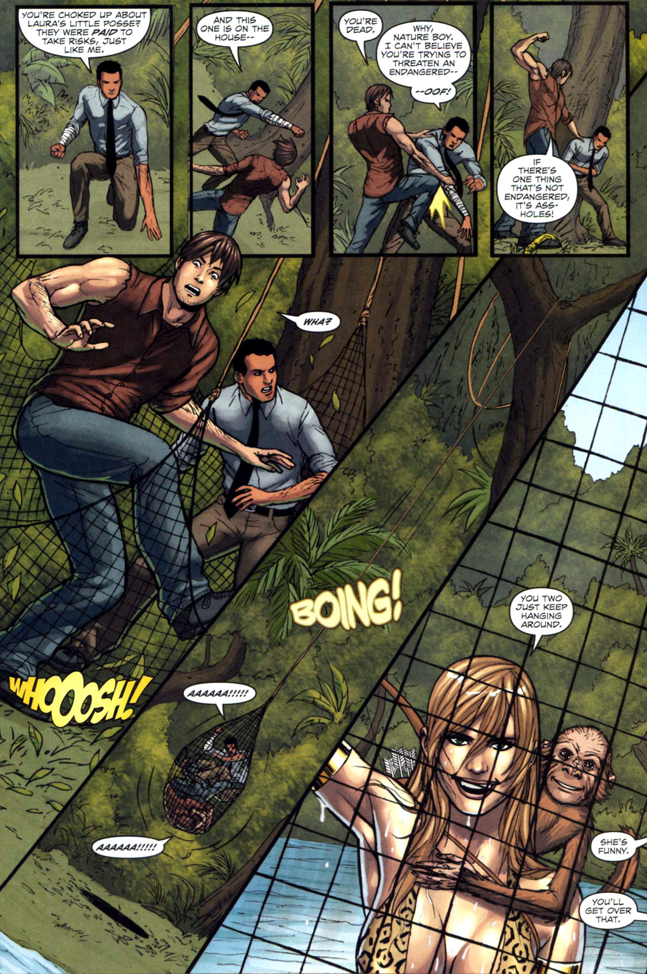 Read online Sheena, Queen of the Jungle comic -  Issue #5 - 8