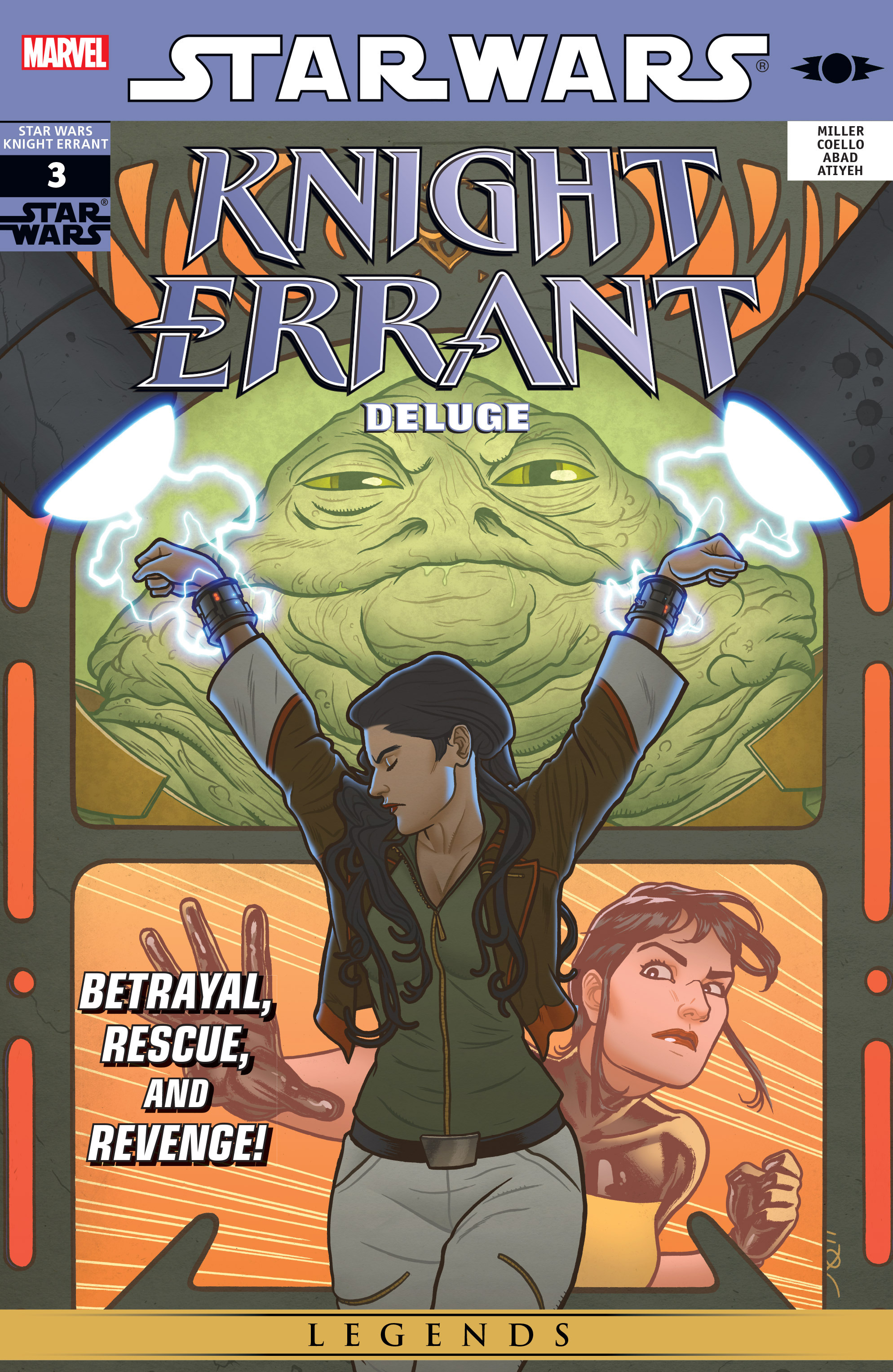Read online Star Wars: Knight Errant - Deluge comic -  Issue #3 - 1