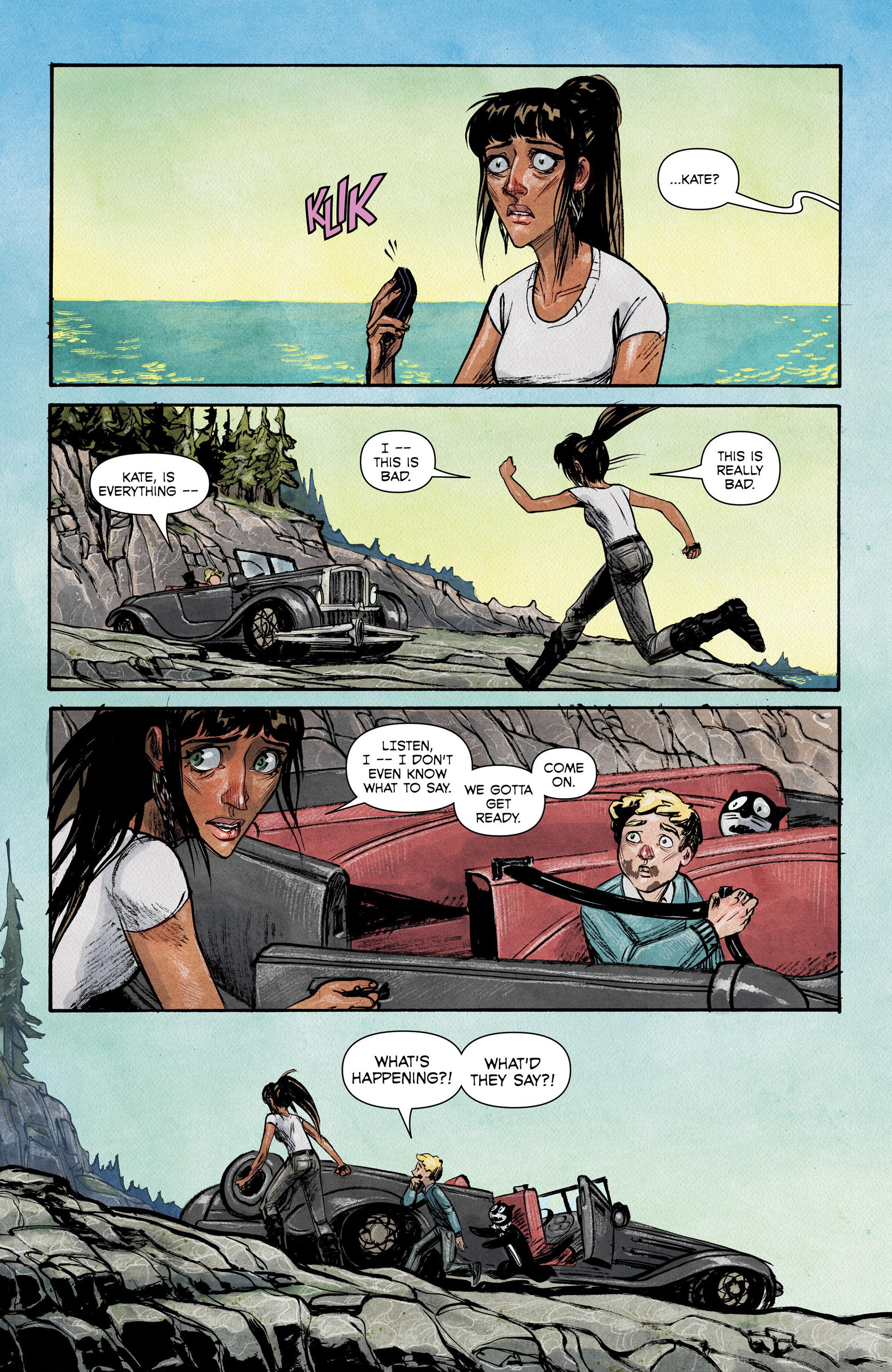 Read online Shutter comic -  Issue #6 - 21