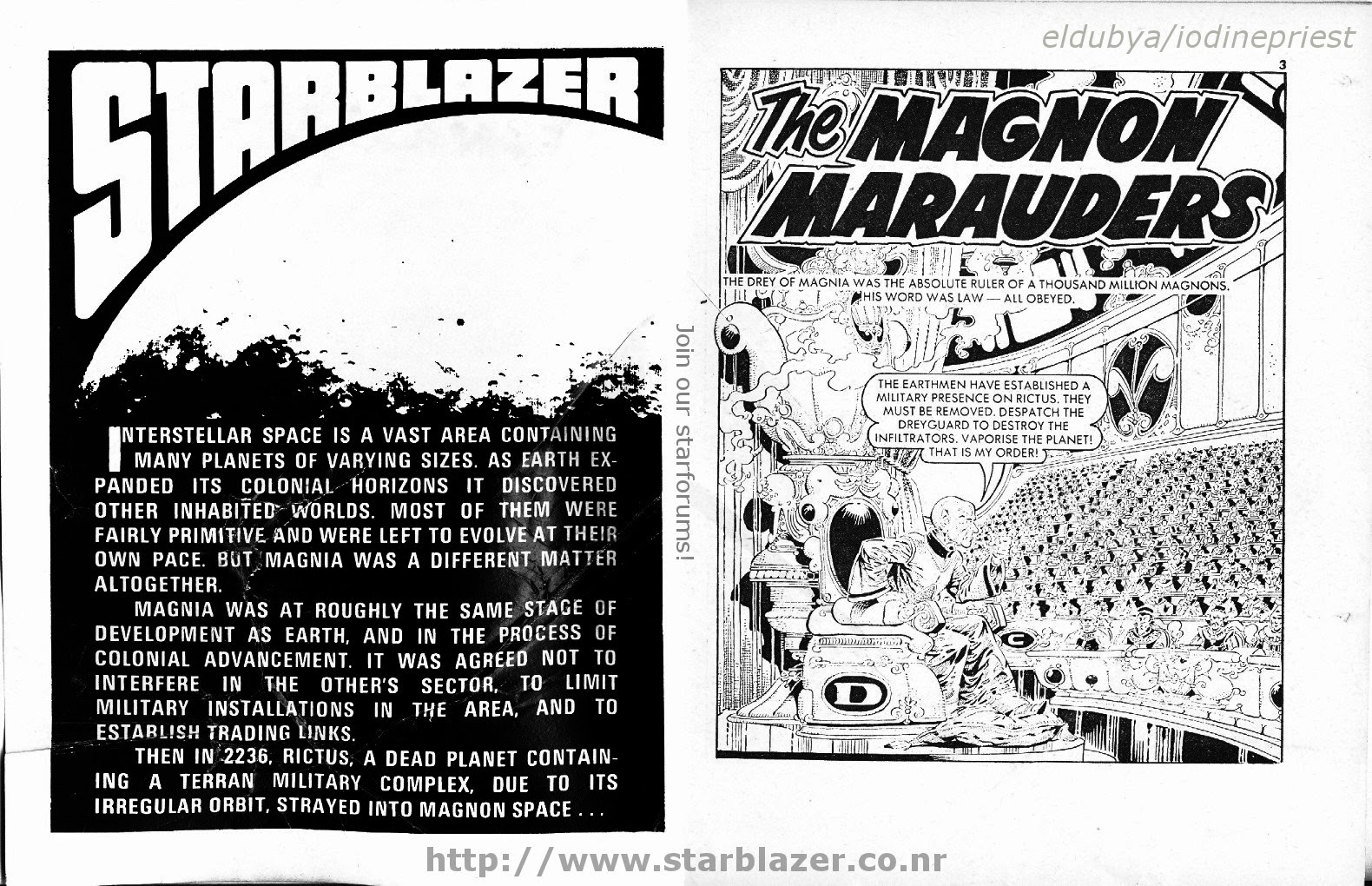 Starblazer issue 107 - Page 3
