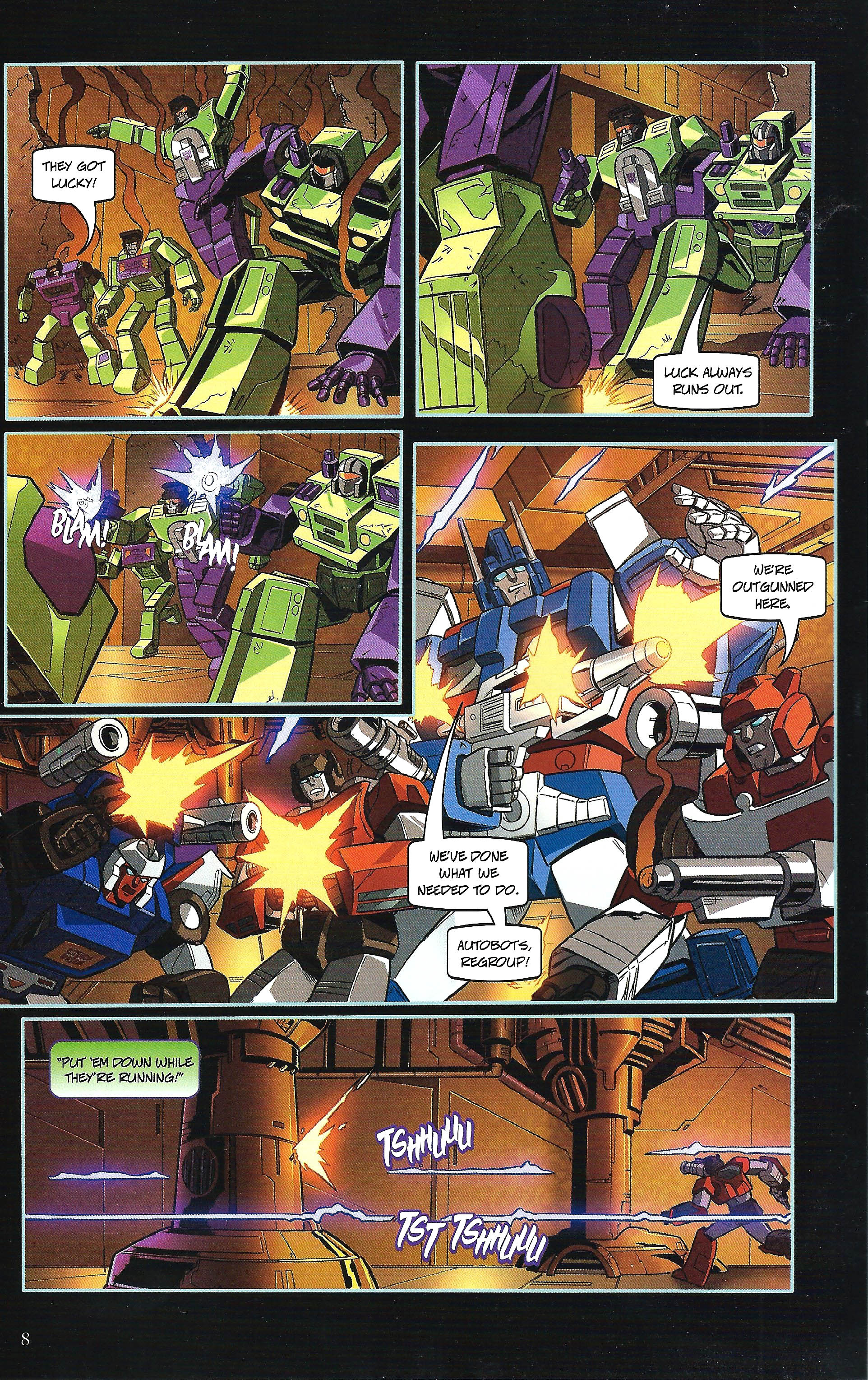 Read online Transformers: Collectors' Club comic -  Issue #43 - 8