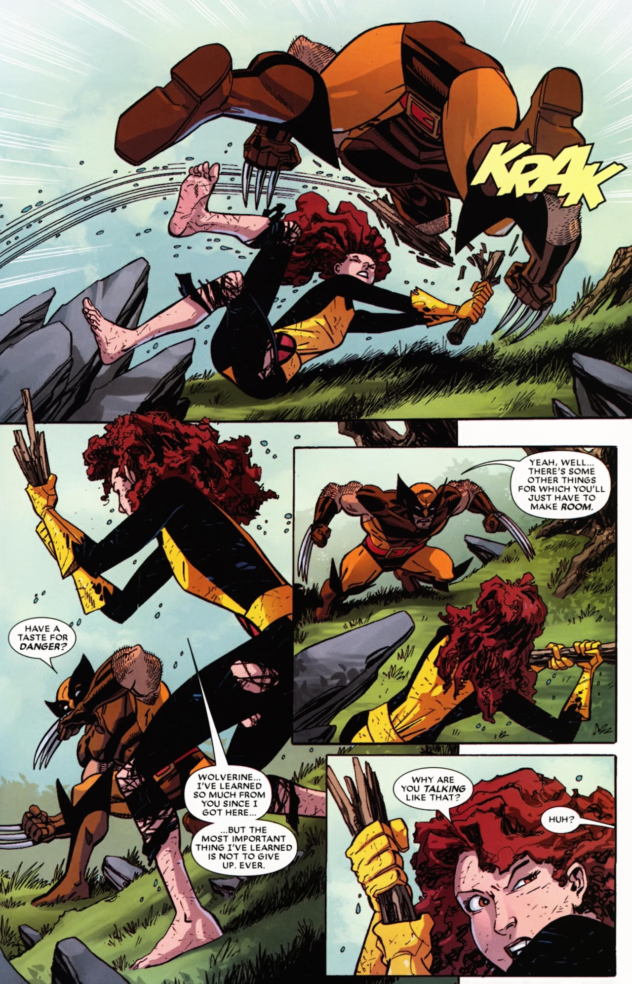 Read online Wolverine: First Class comic -  Issue #21 - 20