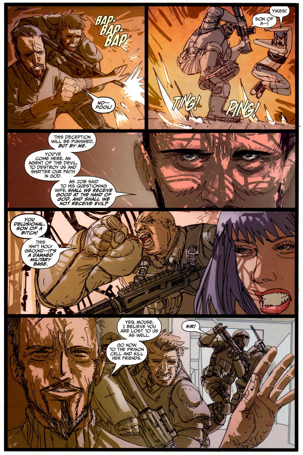 Read online Strange Girl comic -  Issue #6 - 18