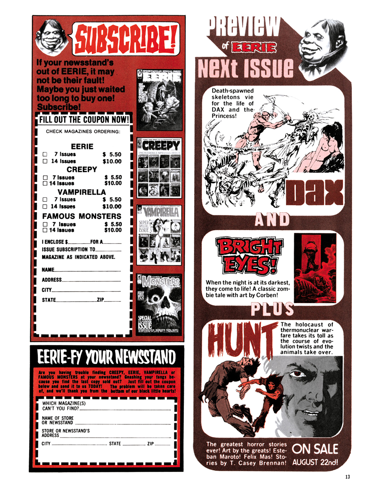 Read online Eerie Archives comic -  Issue # TPB 9 - 14