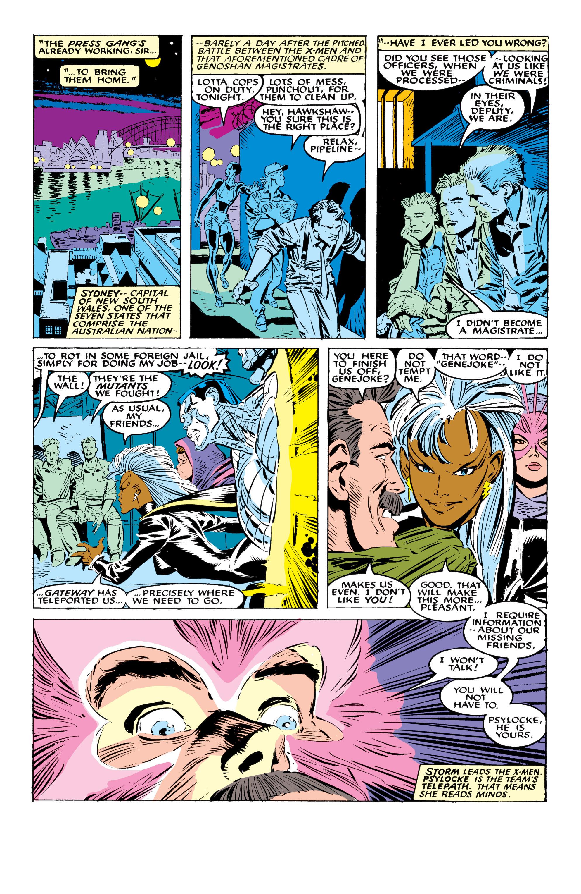 Read online Uncanny X-Men (1963) comic -  Issue #236 - 10