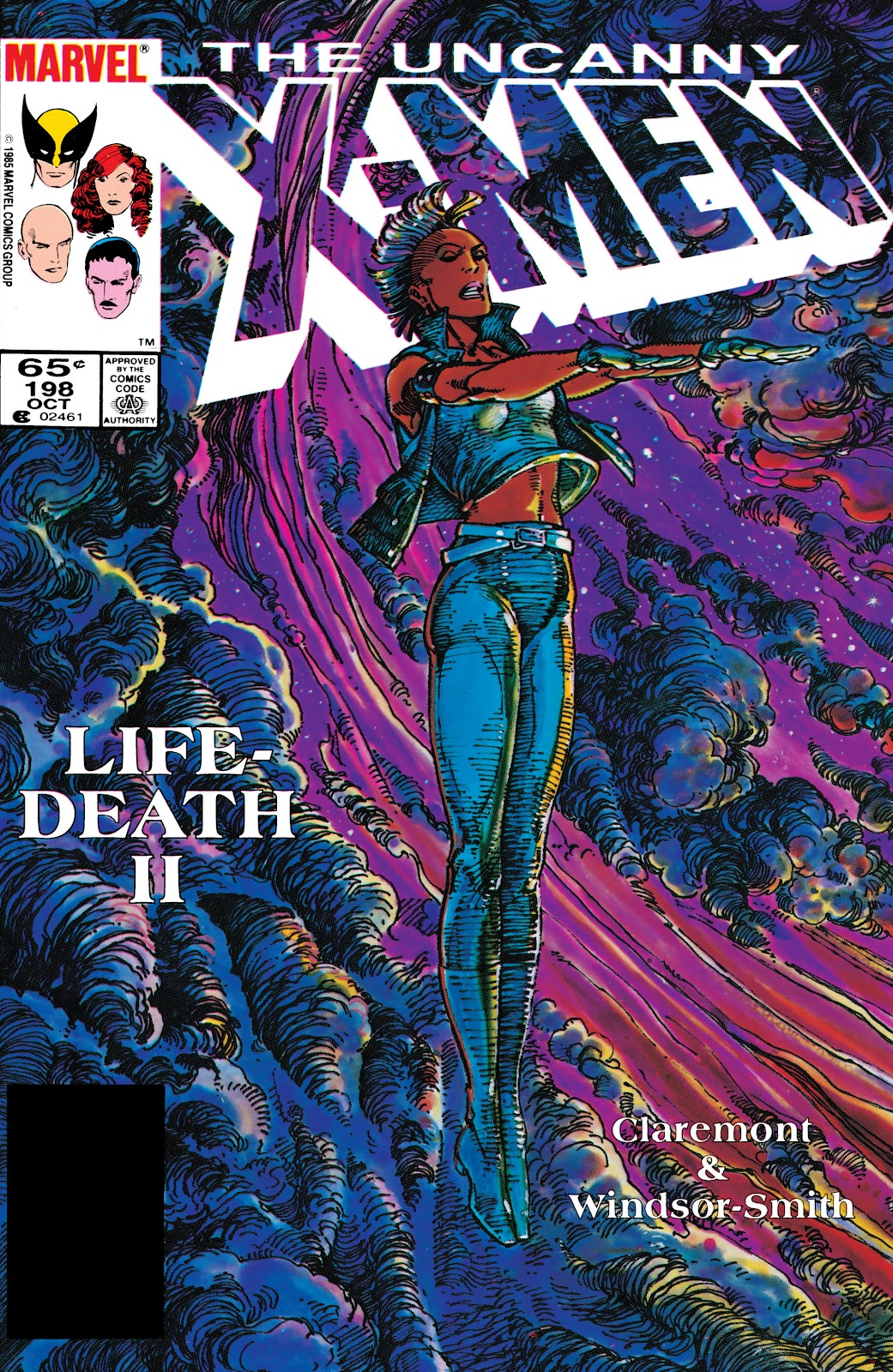 Uncanny X-Men (1963) 198 Page 1