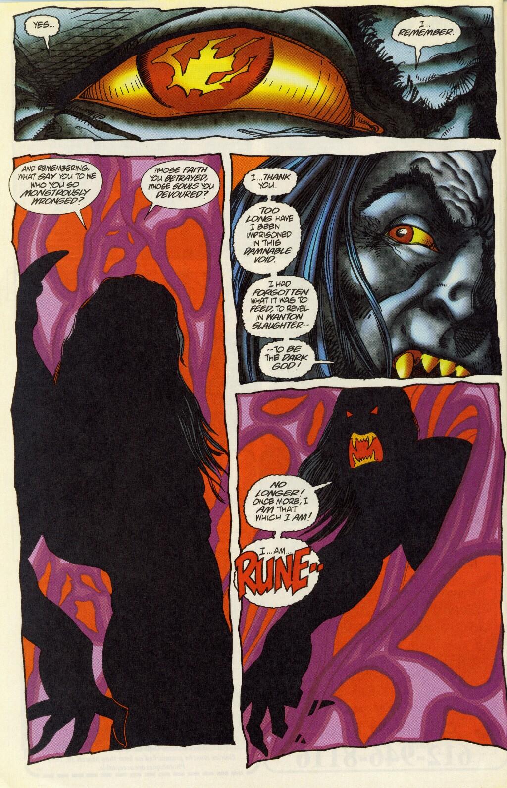 Read online Rune (1995) comic -  Issue #5 - 22