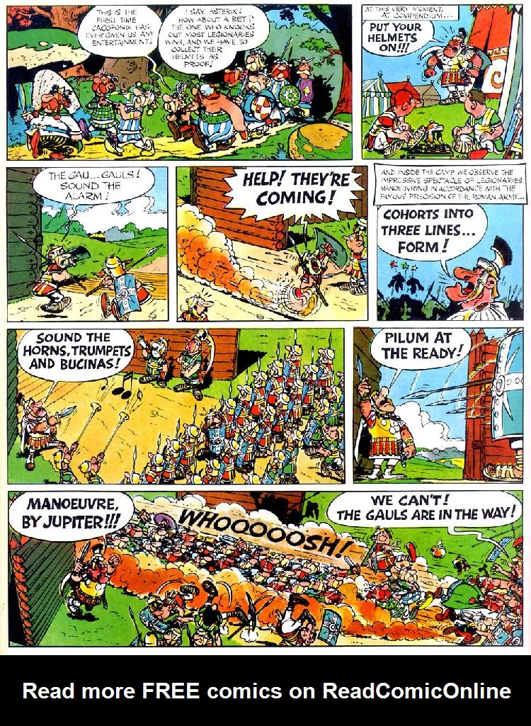 Read online Asterix comic -  Issue #4 - 10