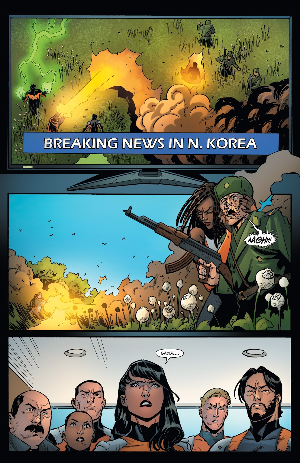 Read online Incidentals comic -  Issue #18 - 9