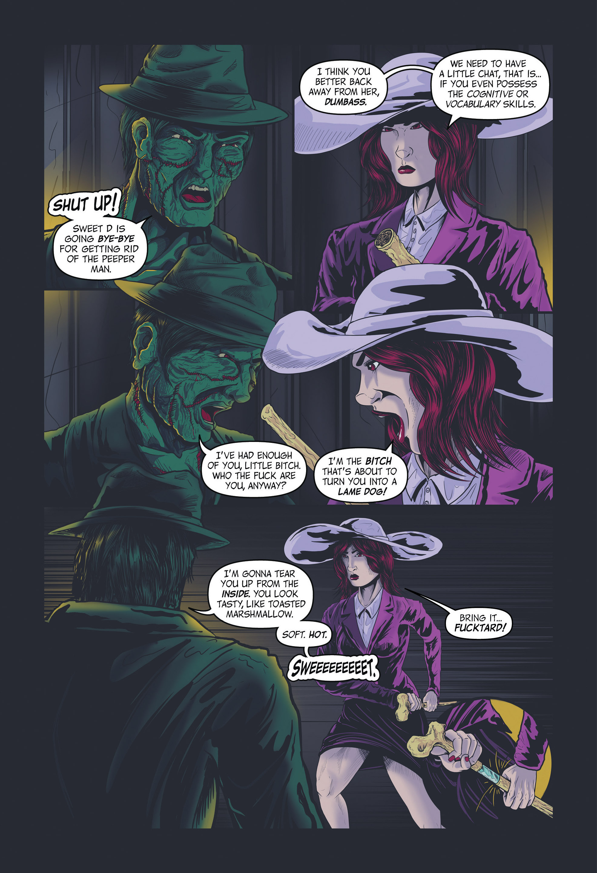 Read online Redemption Heights comic -  Issue # Full - 71