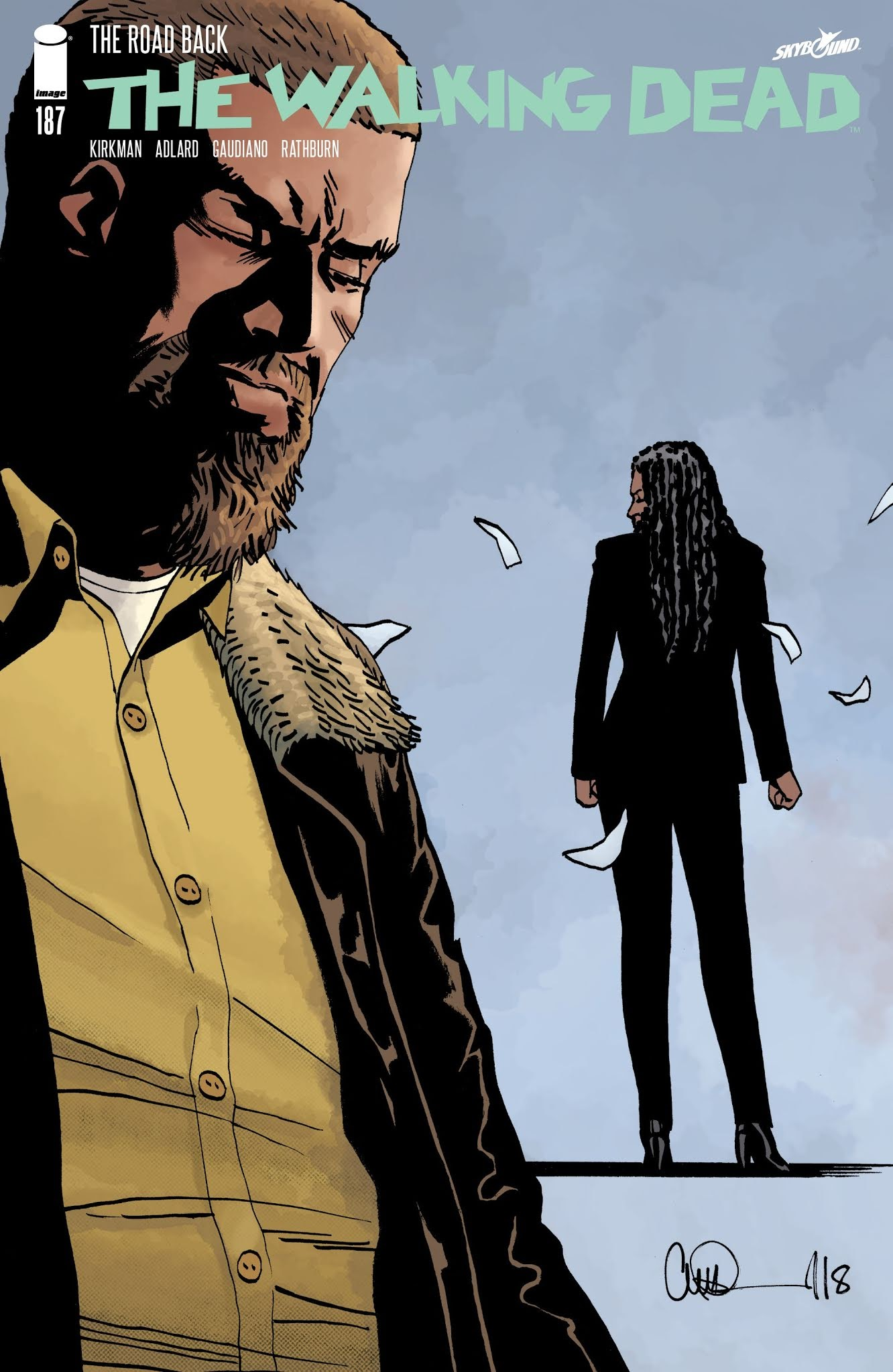 The Walking Dead 187 Page 1
