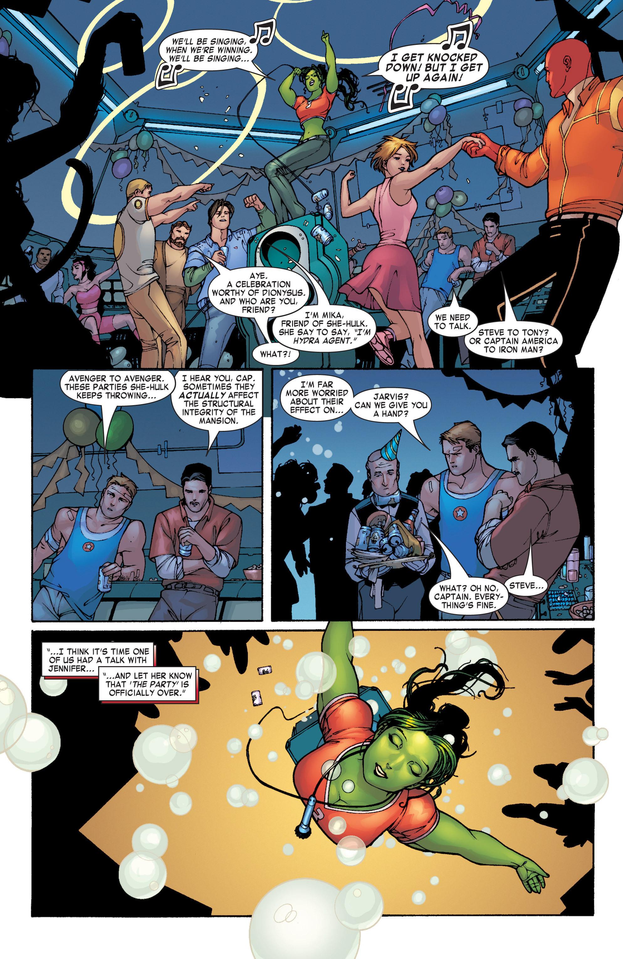 Read online She-Hulk (2004) comic -  Issue #1 - 12