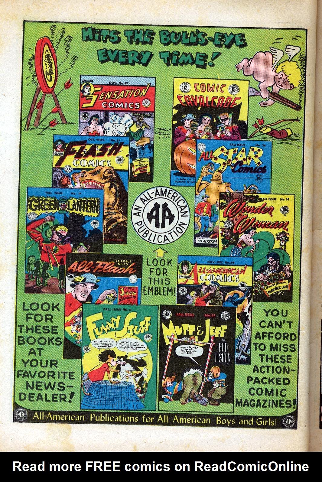 Read online Sensation (Mystery) Comics comic -  Issue #47 - 38