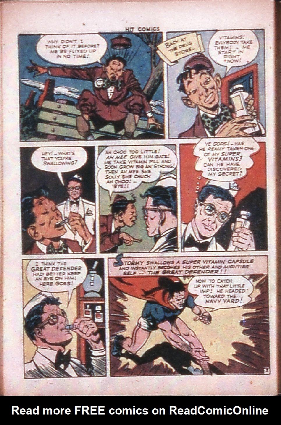 Read online Hit Comics comic -  Issue #33 - 39