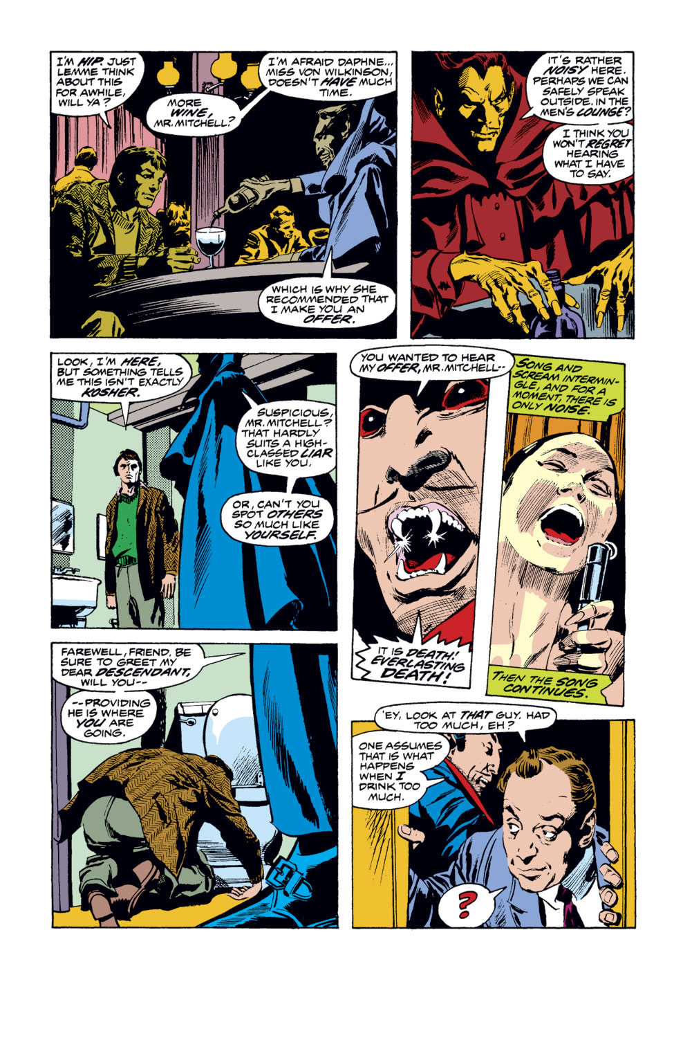 Tomb of Dracula (1972) issue 35 - Page 14
