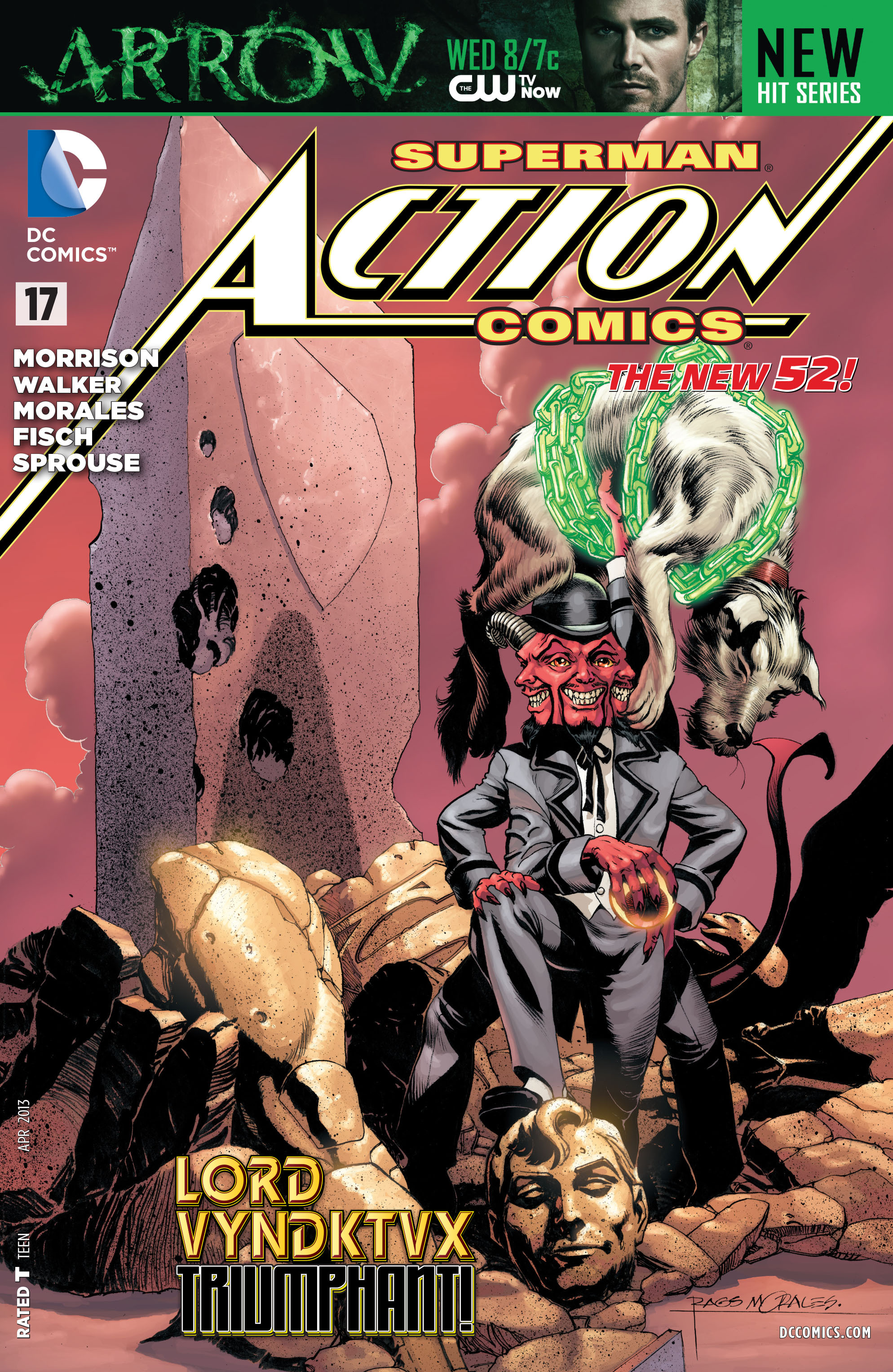 Read online Action Comics (2011) comic -  Issue #17 - 1