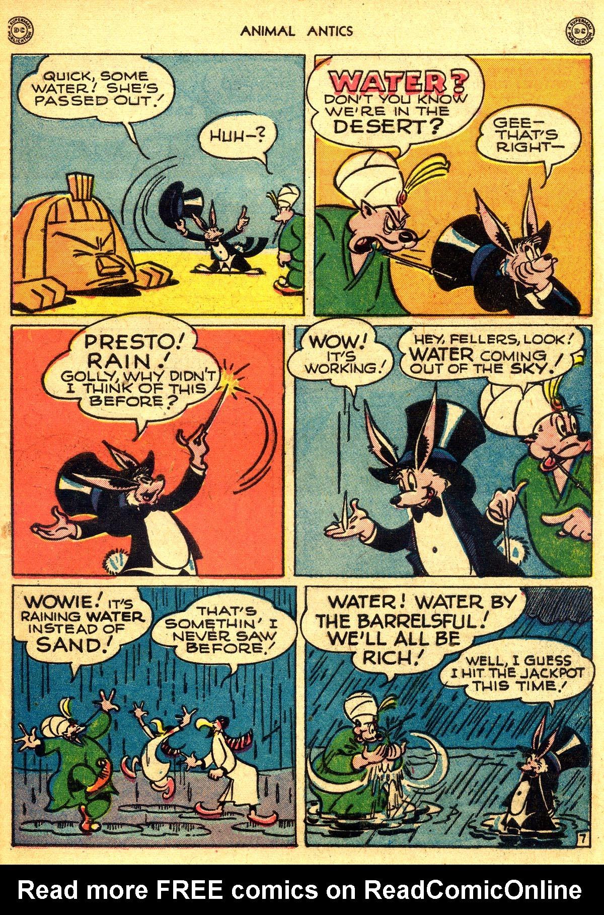 Read online Animal Antics comic -  Issue #8 - 47