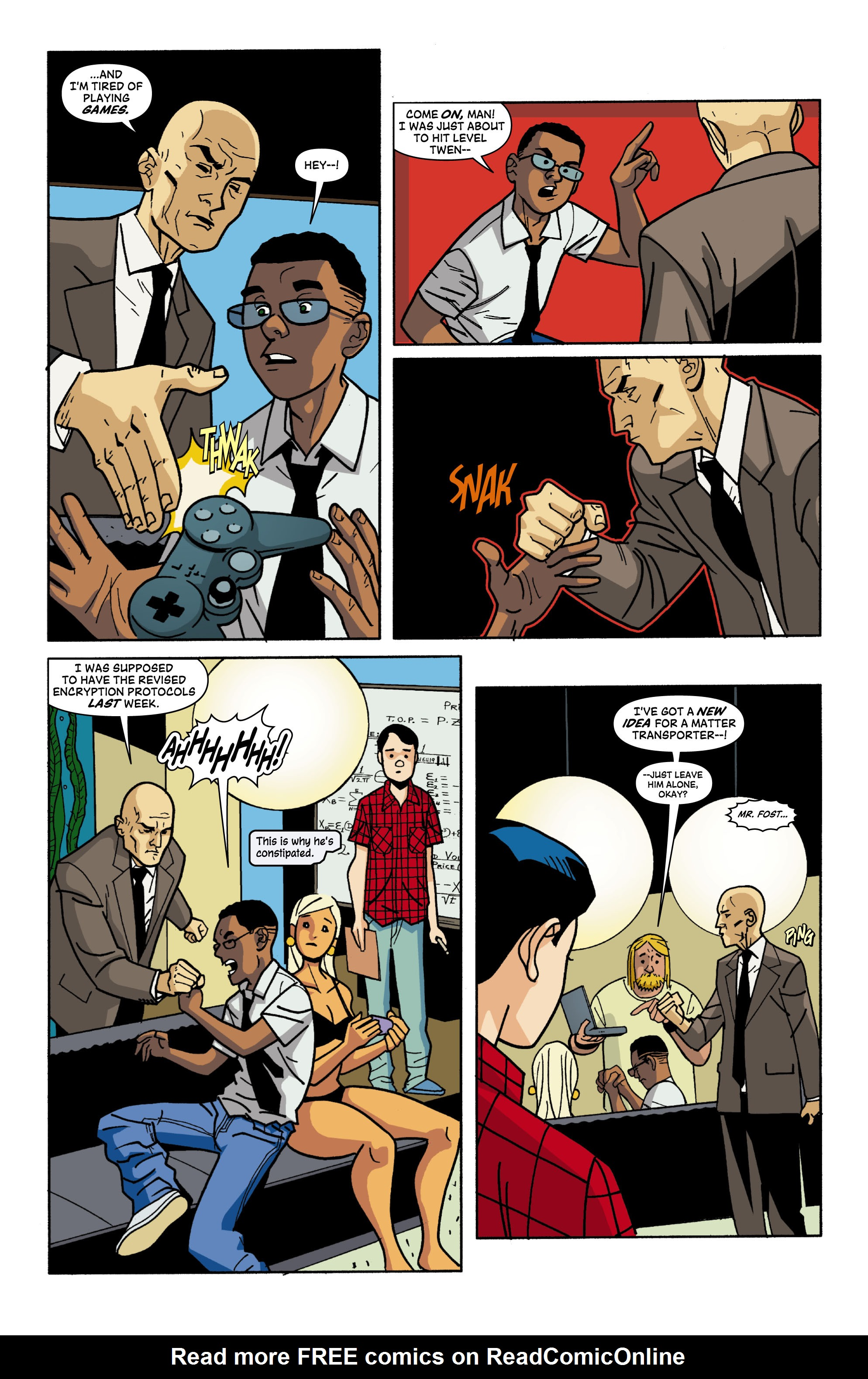 Read online Red Herring comic -  Issue #4 - 14