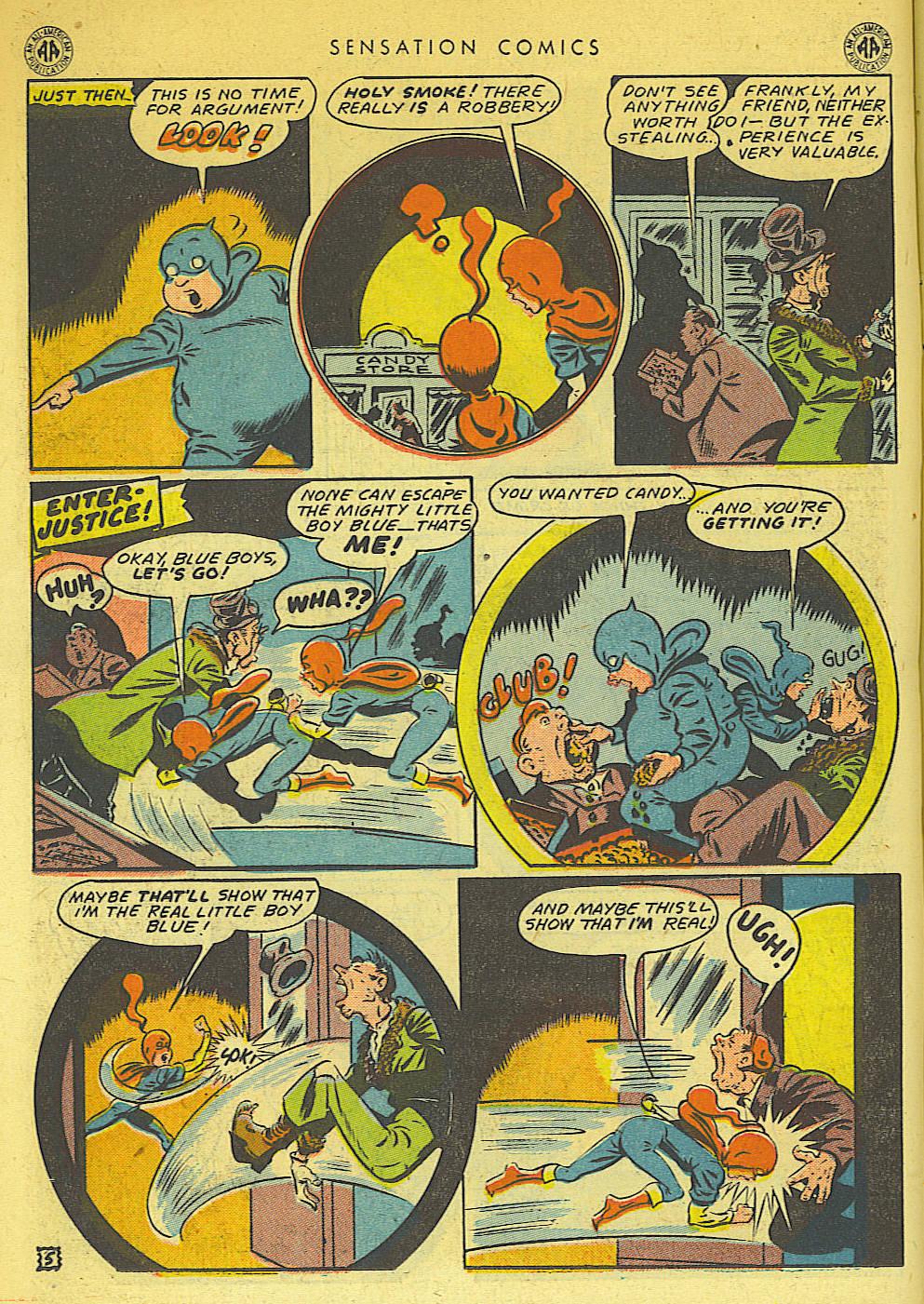 Read online Sensation (Mystery) Comics comic -  Issue #42 - 20