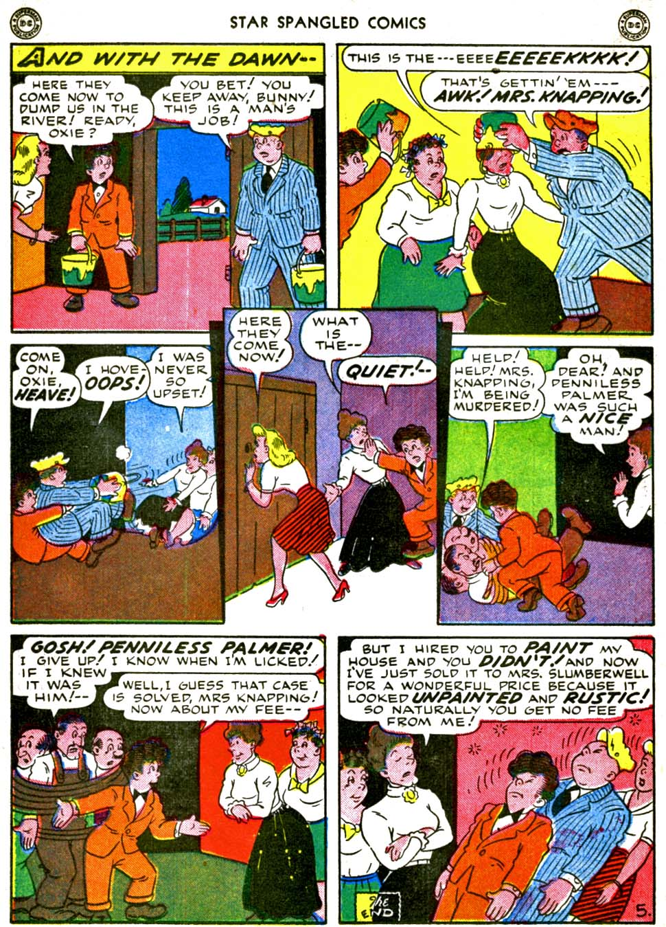 Star Spangled Comics (1941) issue 56 - Page 38