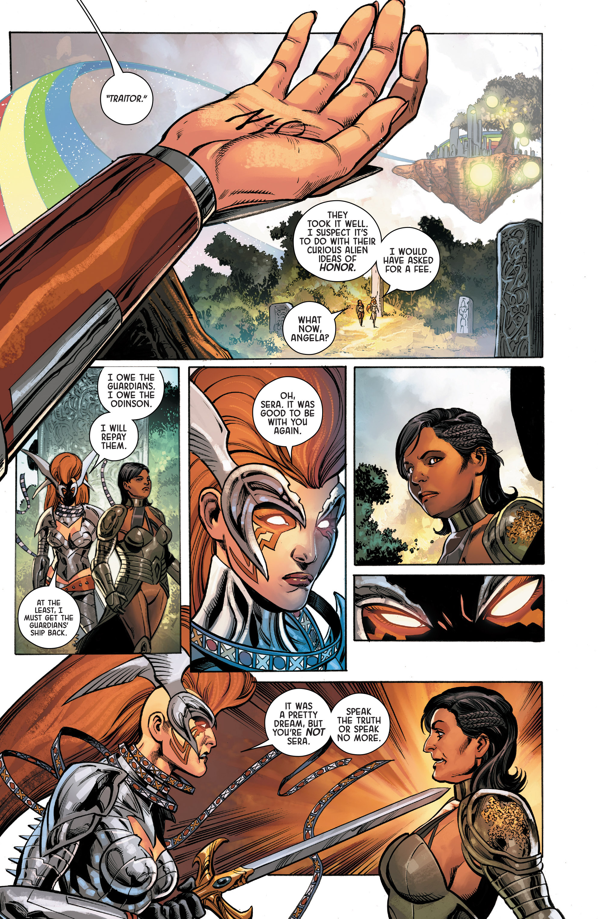 Read online Angela: Asgard's Assassin comic -  Issue #6 - 13