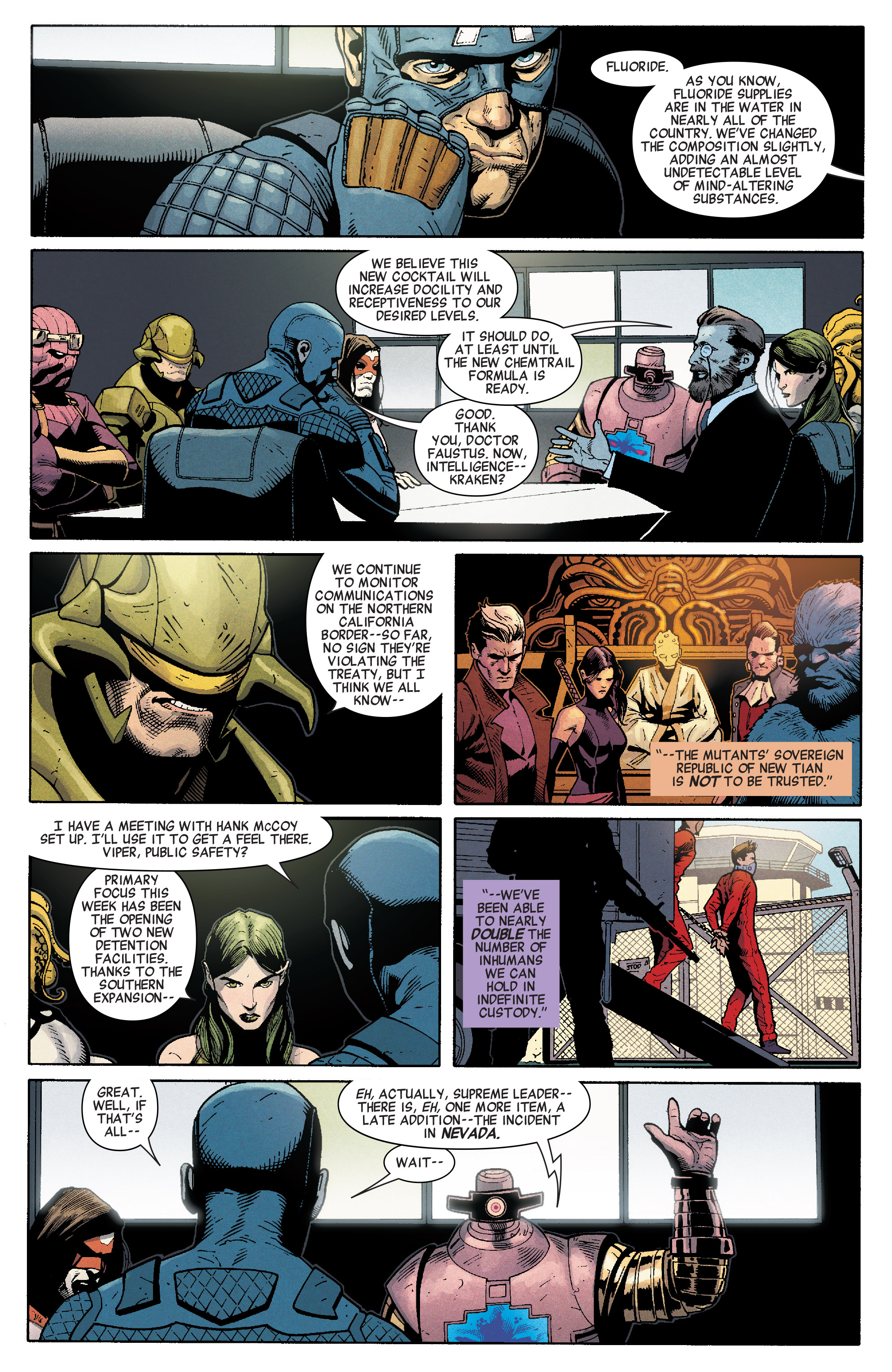 Read online Secret Empire comic -  Issue #1 - 19