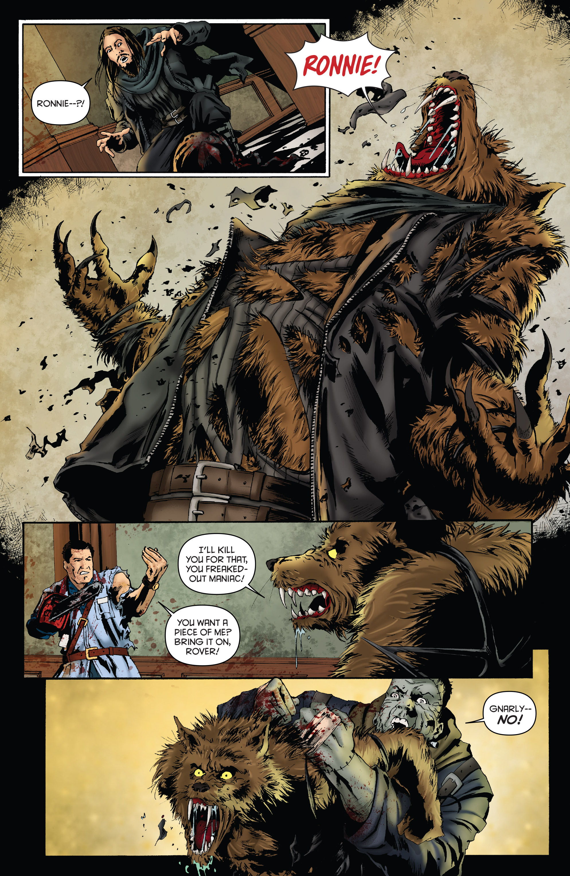 Read online Army of Darkness: Furious Road comic -  Issue #3 - 21