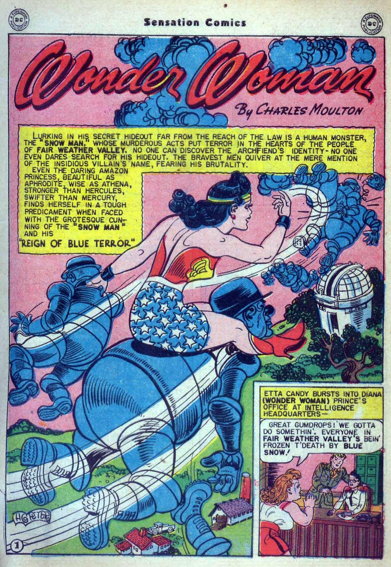 Read online Sensation (Mystery) Comics comic -  Issue #59 - 3