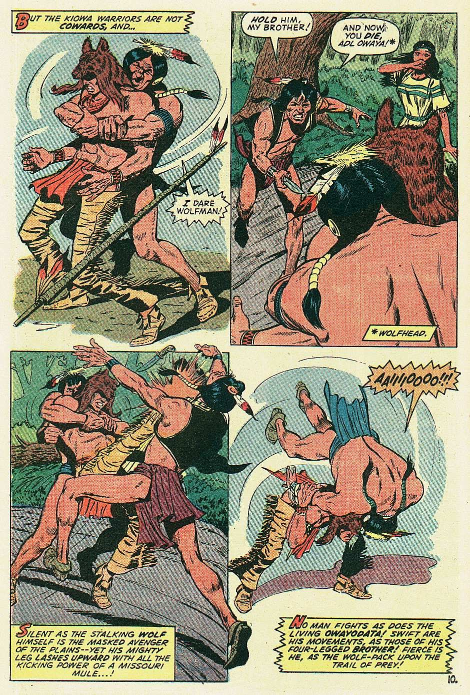 Red Wolf (1972) issue 2 - Page 11