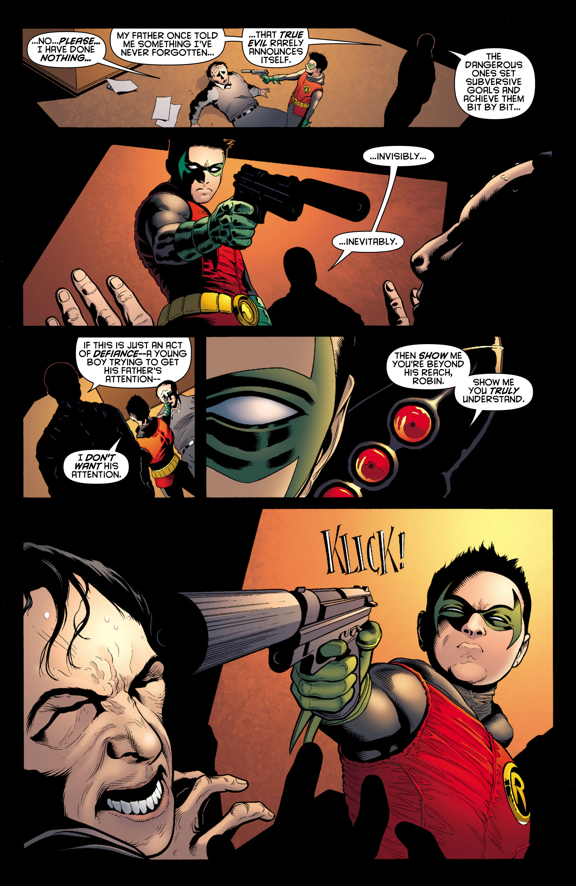 Read online Batman and Robin (2011) comic -  Issue # TPB 1 - 113