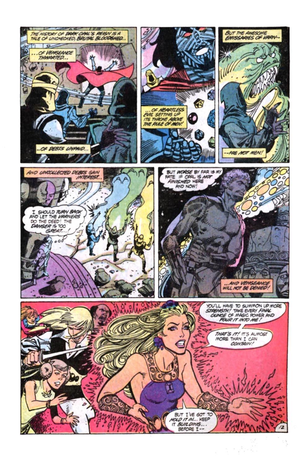 Read online Amethyst, Princess of Gemworld comic -  Issue #12 - 13