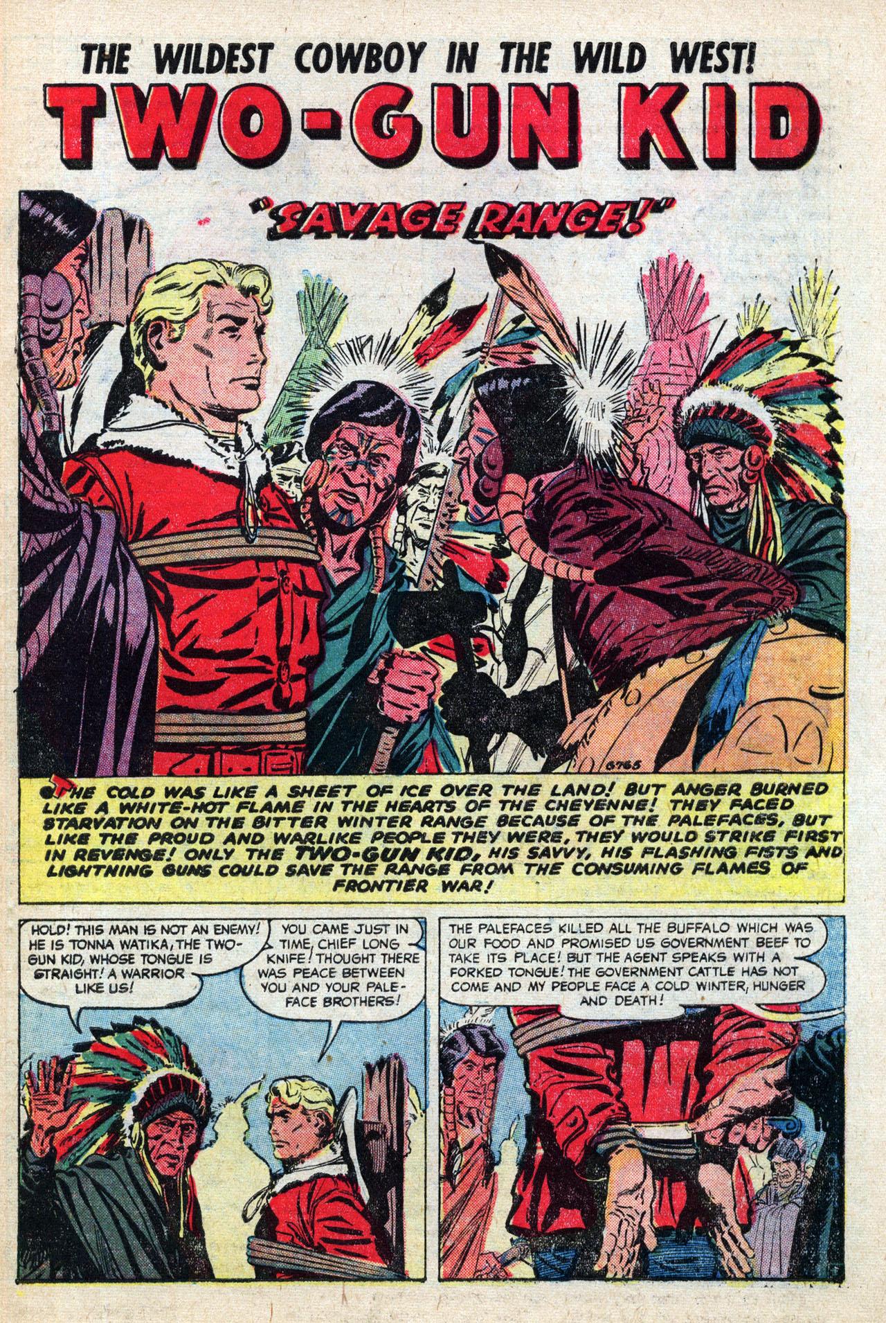 Read online Two-Gun Kid comic -  Issue #27 - 27