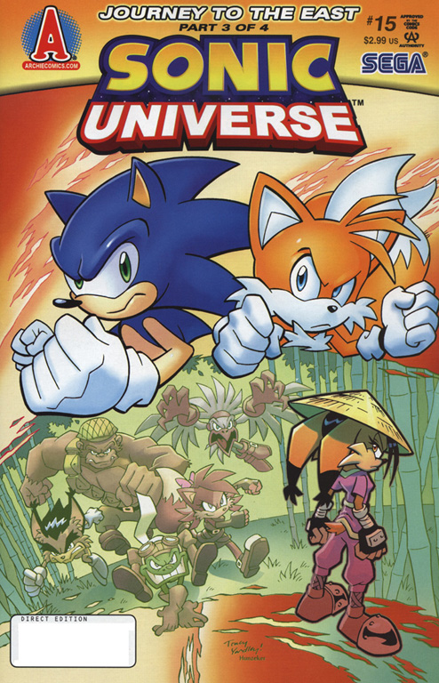 Read online Sonic Universe comic -  Issue #15 - 1