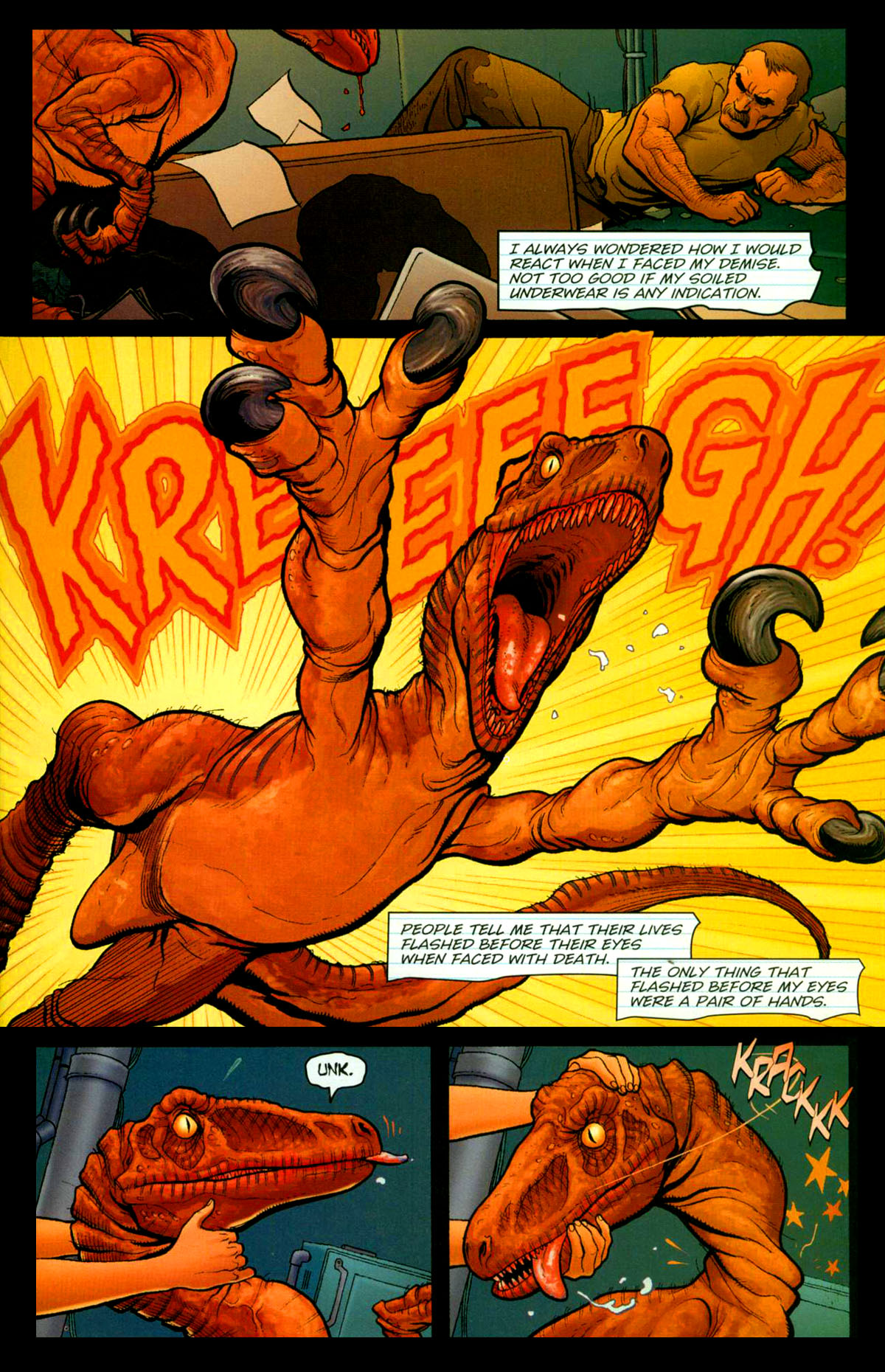 Read online Shanna, the She-Devil (2005) comic -  Issue #1 - 22