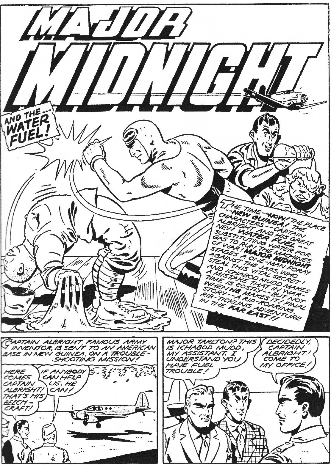 Captain Midnight (1942) issue 11 - Page 2